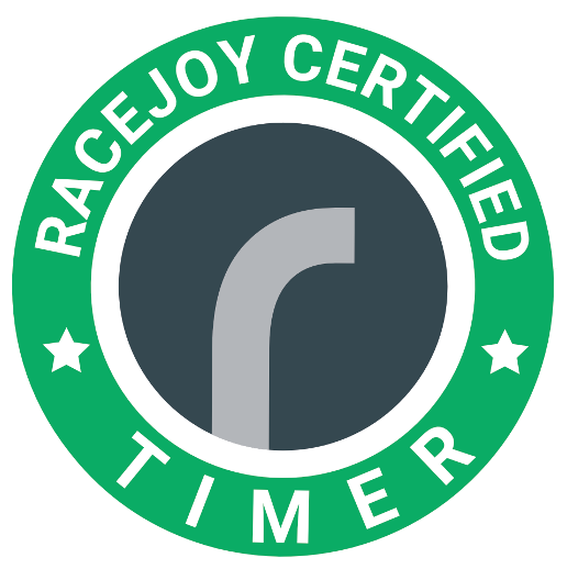 RaceJoy Certified Timer badge