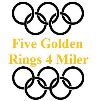 Five Golden Rings 4 Miler