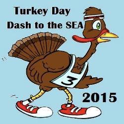 Turkey Day Dash To The Sea 5 Miler
