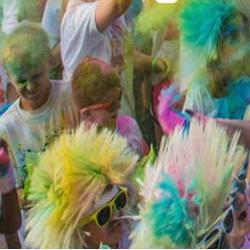 Exeter West Greenwich ColorThon 5K