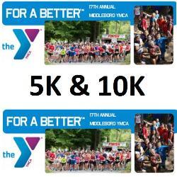 Middleboro YMCA Tispaquin Run 5K & 10K