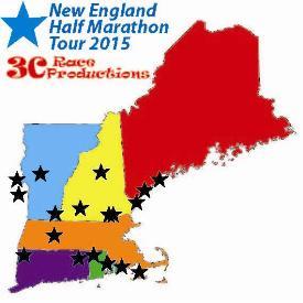 New England Half Marathon Tour